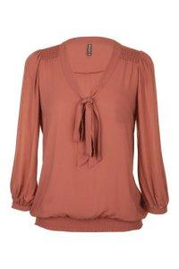 blouse-manches-3-4-avec-lavalliere-NAF-NAF